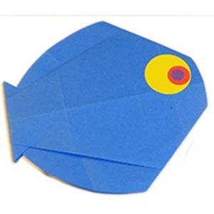 Poisson rond origami