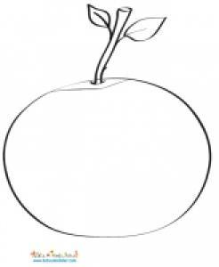 Mosaïque de la pomme à imprimer