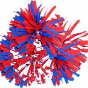 Pompon tricolore du 14 juillet