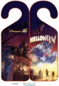 Accroche porte Mickey halloween