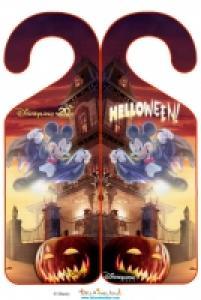 Accroche halloween à Disneyland Paris