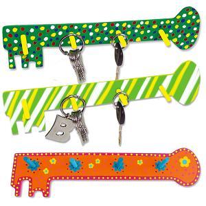 Porte-clés en forme de clé géante