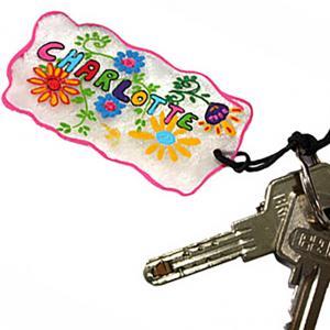 Porte-clé en plastique magique fête des mères