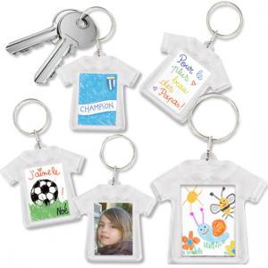 Porte-clés T-shirt personnalisé