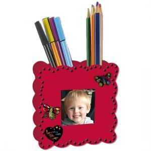 Pot à crayons porte-photo cadeau pour papa