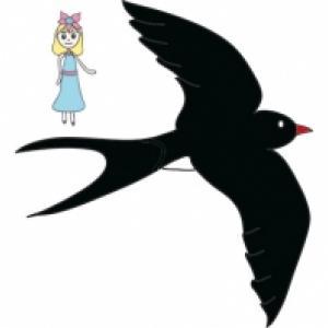 Poucette et l'oiseau