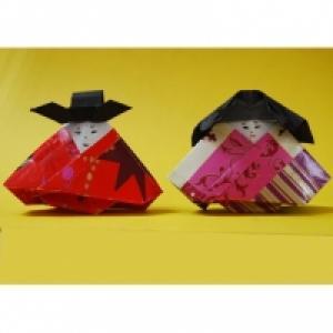 Poupée japonaise en origami