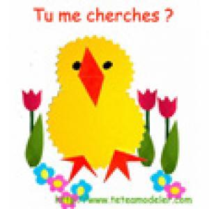 Image de Pâques : poussin -image 28