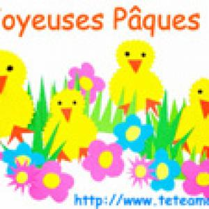 Image de Pâques : les poussins 30