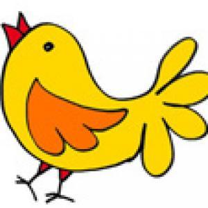 Image de Pâques : le poussin dessin 32