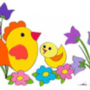 Image de Pâques 36 des poussins de Pâques