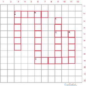 Imprimer des mots croisés cycle 3 animaux grille 3