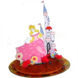 Gâteau anniversaire de princesse