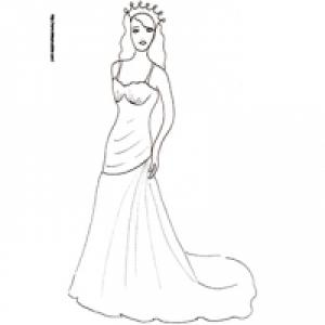 Coloriage Fille A Imprimer Princesse.Coloriages Pour Les Filles Coloriage Filles Tete A Modeler