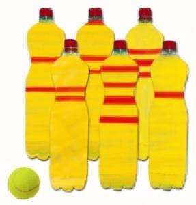 Fabrication d'un jeu de quilles en recyclant des bouteilles en plastique