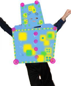 Fabriquer un déguisement de robot pour le carnaval