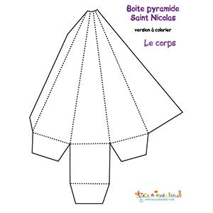 Saint Nicolas pyramide pochette
