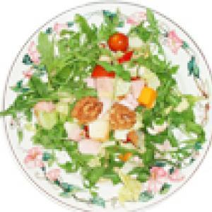 salade composée au jambon de Paris