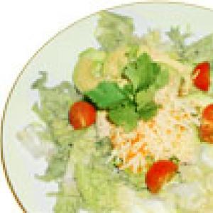 Salade de surimi et avocat