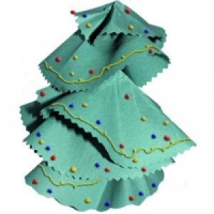 Ce sapin en papier aux formes souples est entièrement réalisé avec du papier. Une idée de bricolage de Noël simple pour préparer les décorations de Noël. Ce sapin en papier peut être laissé brut avec son feuillage vert ou il peut être décoré