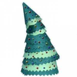 Petit sapin de Noël articulé