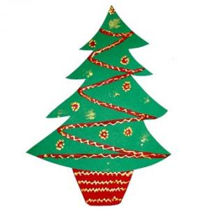 Décorer un sapin de Noël en papier