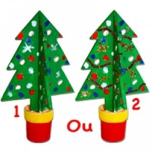 Decoration sapin en pot