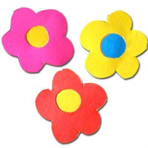 Fabriquer des fleurs découpes de scrapbooking