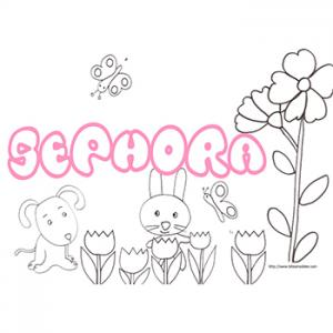 prenom Sephora