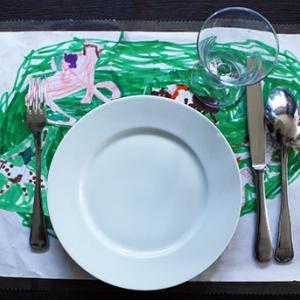 Set de table dessin d'enfant