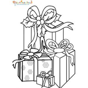 Tas de cadeaux pour Noël