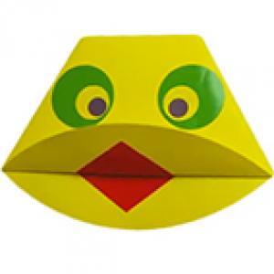 Tête de canard origami