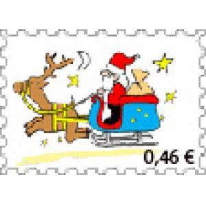 faux timbres de Noël