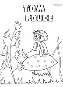 Tom Pouce sur le champignon