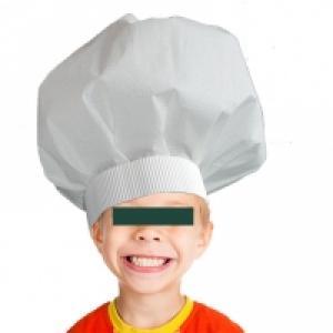 Toque de chef cuisinier