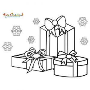 Trois cadeaux, trois v?ux de Noël