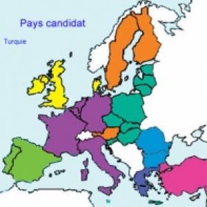 25 pays de l'Union Européenne