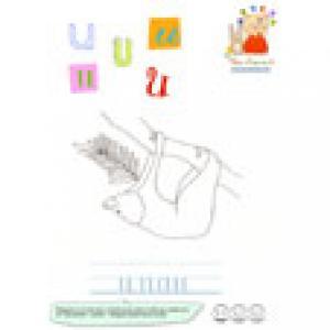 U de unau - imagier des lettres minuscules
