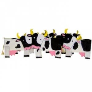 Bricolage de vaches en carton