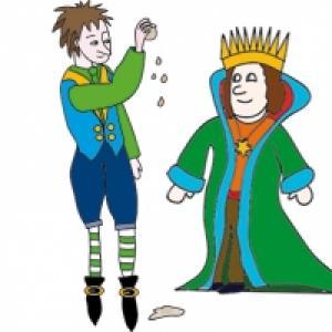 Le valeureux petit tailleur et le roi