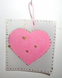 carte coeur en calque