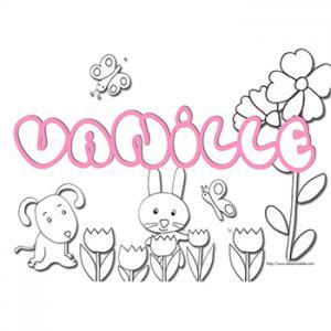 prénom vanille