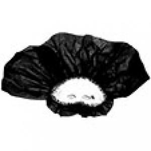 Realisation masque de Venise voile noir