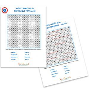 Jeux de mots cachés sur la République française