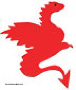 Dragon à imprimer