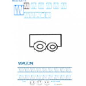 Imprimer la fiche graphisme sur W de WAGON