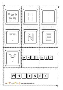 whitney keystone