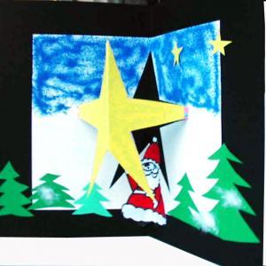 carte de voeux étoile