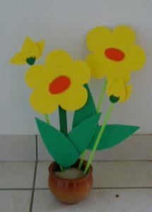 Pot de fleur à fabriquer