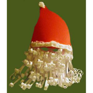 masque de Père Noël à grande barbe